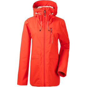 DIDRIKSONS Wida 2 Jacket Women, poppy red